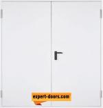 Метална пожароустойчива врата, двукрила REI 60